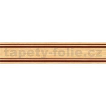 Samolepící bordury proužky hnědé 5 m x 3 cm