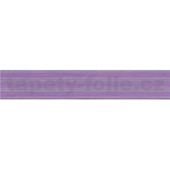 Samolepící bordura fialová 5 m x 3 cm