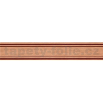Samolepící bordura hnědá 5 m x 3 cm
