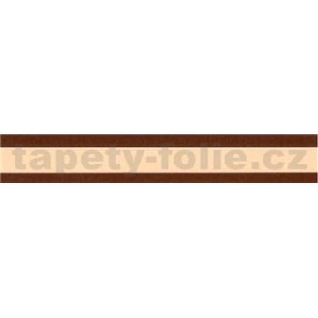 Samolepící bordura krémová 5 m x 3 cm