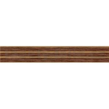 Samolepící bordura hnědá 5 m x 5 cm