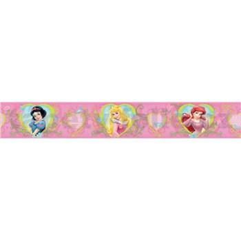 Bordura Disney princezny 5 m x 10,6 cm