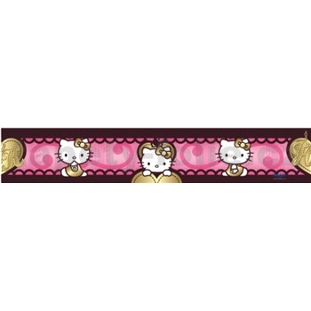 Bordura Hello Kitty love 5 m x 10,6 cm