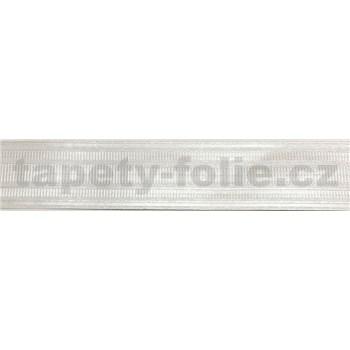 Vinylové bordury krémové 4 cm x 5 m