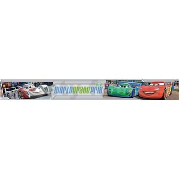 Bordura samolepící Auta World Grand Prix rozměr 10,6 cm x 5 m