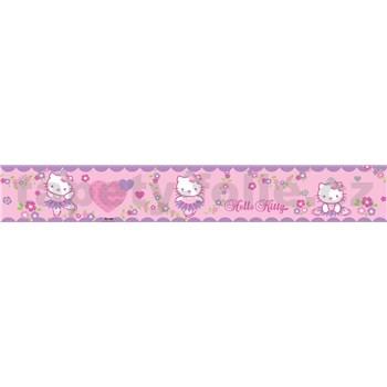 Bordura dětská 5 m x 10,6 cm Hello Kitty