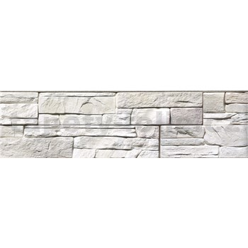 Samolepící bordura ukládaný kámen šedý 8,3 cm x 5 m