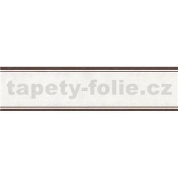 Samolepící bordura krémová 5 m x 5 cm