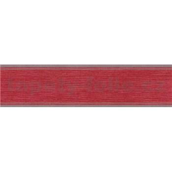 Samolepící bordura vínově červená 5 m x 5 cm