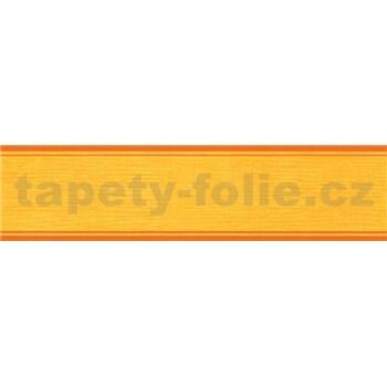 Samolepící bordura žlutá 5 m x 5 cm