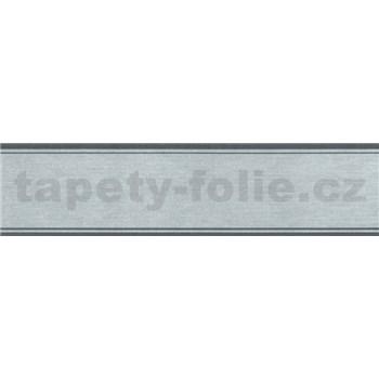 Samolepící bordura šedá 5 m x 5 cm