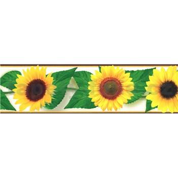 Samolepící bordura slunečnice 5 m x 8,3 cm