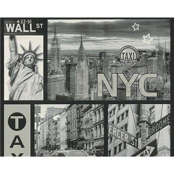 Vinylové tapety na zeď Boys & Girls New York taxi