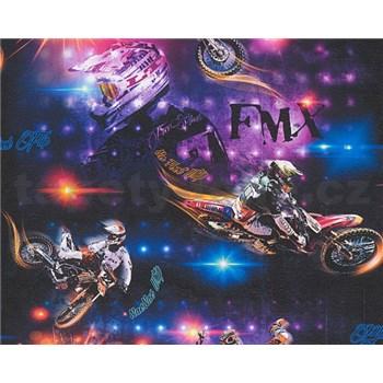 Papírové tapety na zeď Boys & Girls motokros