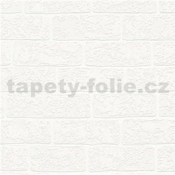Vliesové tapety na zeď Boys & Girls cihla bílá