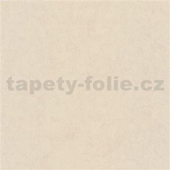 Luxusní vliesové tapety na zeď Brilliance jednobarevná strukturovaná krémová se třpytem