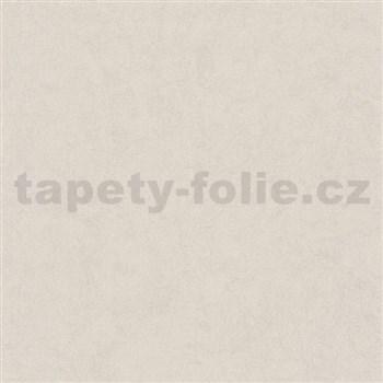 Luxusní vliesové tapety na zeď Brilliance jednobarevná strukturovaná bílá