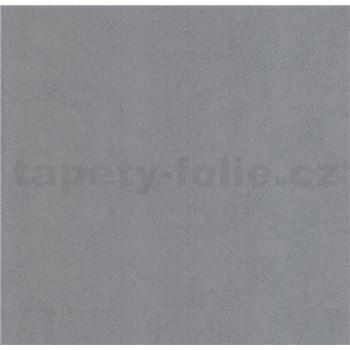 Luxusní vliesové tapety na zeď Brilliance jednobarevná strukturovaná šedá