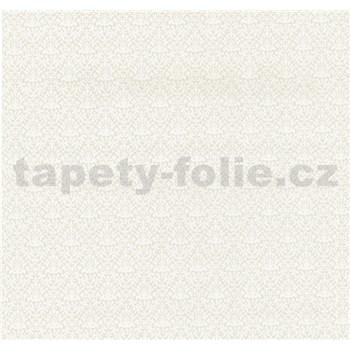 Vliesové tapety na zeď Caprice ornament malý bílý
