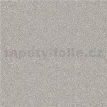 Vliesové tapety IMPOL Carat 2 strukturovaná s leskem stříbrná