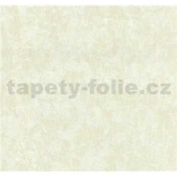 Vliesové tapety na zeď Carat metalická krémová