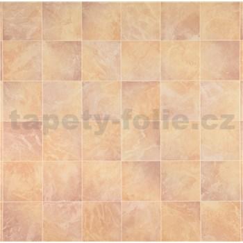 Dekorativní obklad na stěnu Ceramics Prato růžové-oranžové šířka 67,5 cm x 20 m