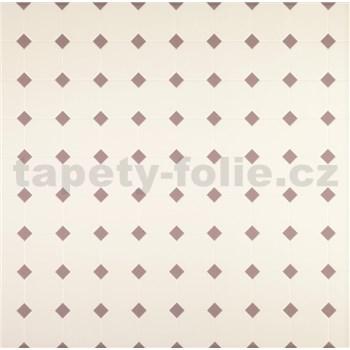 Dekorativní obklad na stěnu Ceramics krémový s hnědými elementy šířka 67,5 cm x 20 m