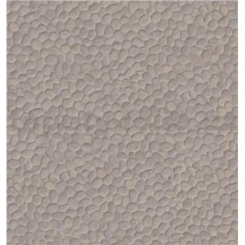 Dekorativní obklad na stěnu Ceramics Bato kamínky šedé šířka 67,5 cm x 20 m