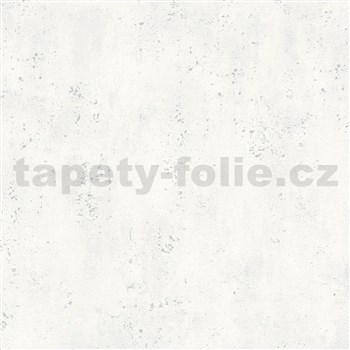 Vliesové tapety IMPOL City Glam beton šedý se stříbrnými metalickými odlesky