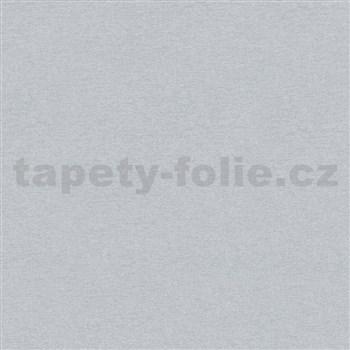 Vliesové tapety na zeď IMPOL City Glam textilní struktura stříbrná