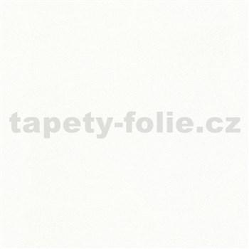 Vliesové tapety IMPOL City Glam textilní struktura bílá s třpytkami