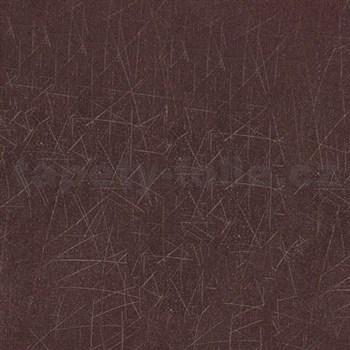 Vliesové tapety na zeď Colani Visions fialová s moderní strukturou