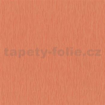 Vliesové tapety na zeď Jackpot - strukturovaná oranžová