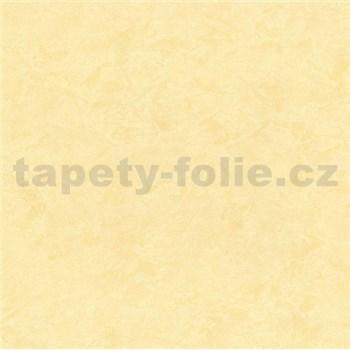 Vliesové tapety na zeď - strukturovaná omítkovina žlutá - SLEVA