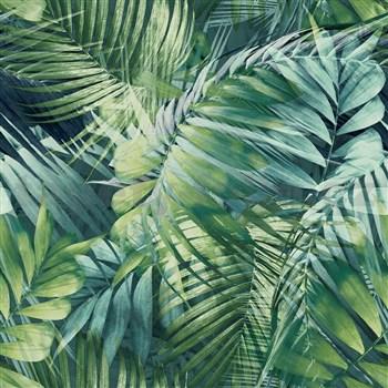 Vliesové tapety na zeď IMPOL Collection Tropical Jungle zelená