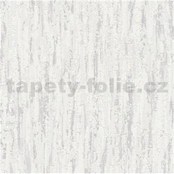 Vliesové tapety na zeď kůra šedá