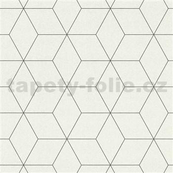Vliesové tapety na zeď IMPOL Collection skandinávský design bílý