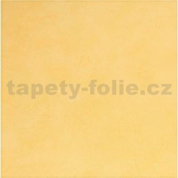 Papírové tapety na zeď  strukturovaná omítkovina žlutá