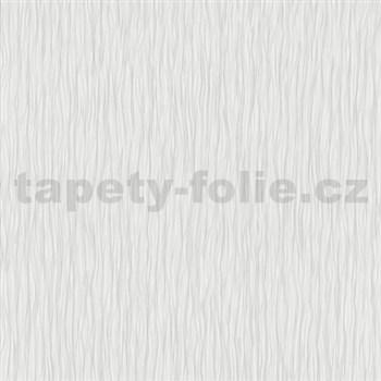 Vliesové tapety na zeď Como - strukturované vlnovky šedé