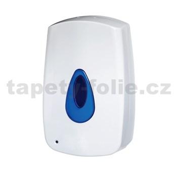 Bezkontaktní automatický dávkovač tekutého mýdla MERIDA AUTOMATIC - na dolévání, 1litr, bílý