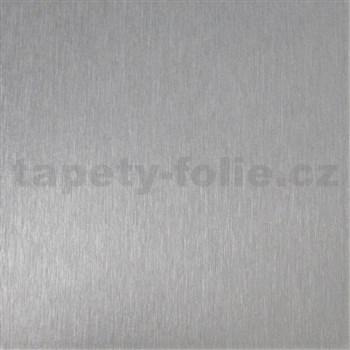 Samolepící tapeta stříbrná platina  - 45 cm x 15 m