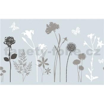 Statická fólie transparentní Blossom - 45 cm x 15 m