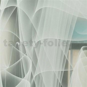 Statická fólie  transparentní Murano 45 cm x 15 m