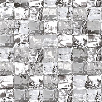 Statická fólie transparentní Ice Cube - 45 cm x 15 m