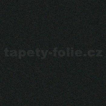 Samolepící tapety - velur černý 45 cm x 5 m