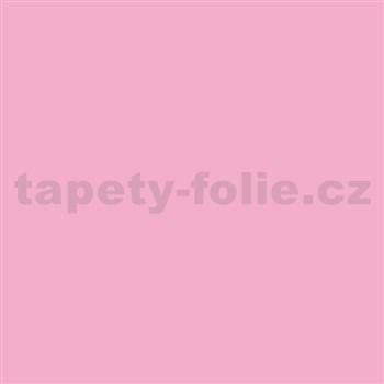 Samolepící fólie světle růžová - 67,5 cm x 2 m (cena za kus)