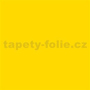 Samolepící tapety - žlutá 45 cm x 15 m