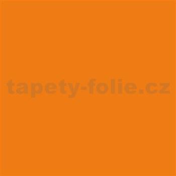 Samolepící tapety - oranžová 45 cm x 15 m