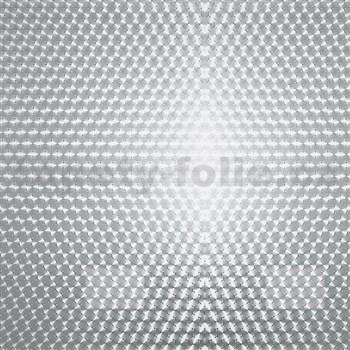 Samolepící tapety transparentní kruhy 45 cm x 15 m