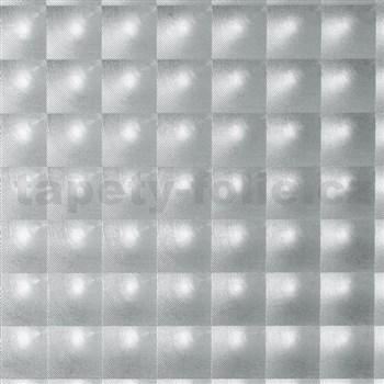 Samolepící tapety  transparentní čtverce 45 cm x 15 m